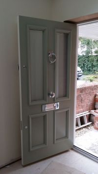 Victorian Front Door an Farrow and Ball Blue Grey www ...