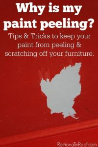 Painting 101: Why is my paint peeling? | To Fix, Furniture ...