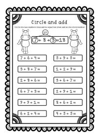 Adding Three Numbers (Add 3 Numbers) Worksheets ...