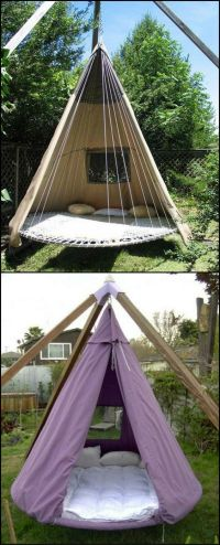 Trampolines, Swing beds and What to do when on Pinterest