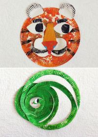 Tiger Paper Plate Craft | www.imgkid.com - The Image Kid ...