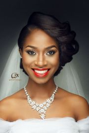 bridal hair african american