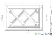Coffered ceilings, Ceiling design and Drawings on Pinterest
