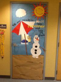 Olaf summer classroom door | Classroom doors | Pinterest ...