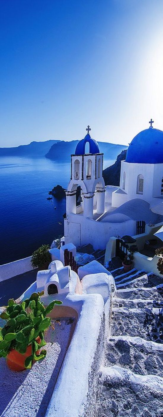Pinterest Santorini