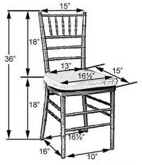 chiavarri chair dimensions | chair shapes banquet chair ...