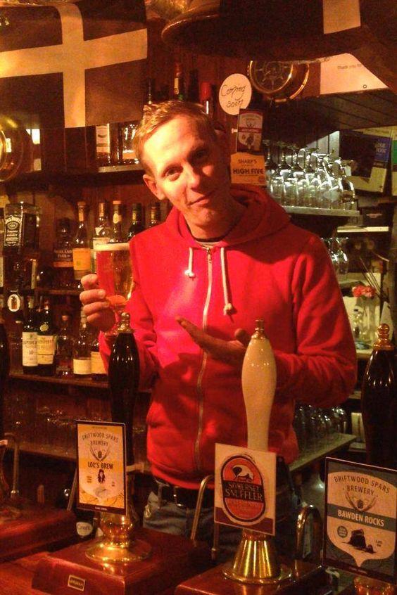 Laurence Fox in Cornwall 2015: