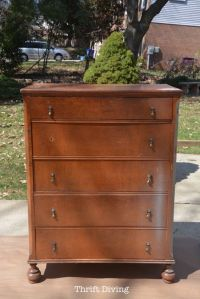 Save An Ugly Dresser: A Chic Dresser Makeover | Painted ...