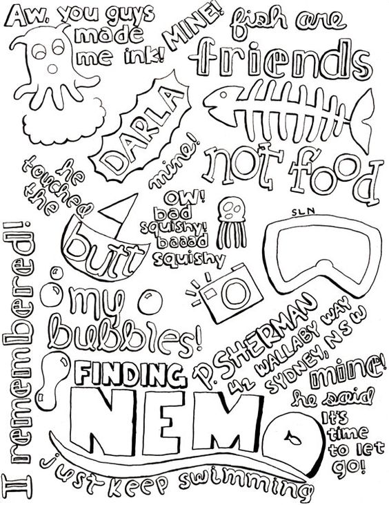 Finding nemo, Cute quotes and Finding nemo quotes on Pinterest