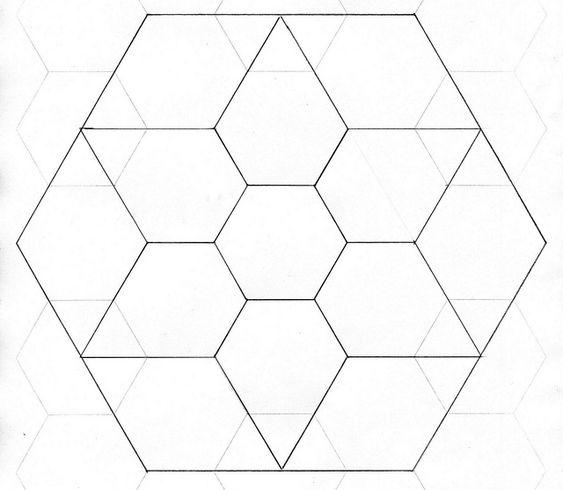 Diamond Jewel Star Quilt Pattern