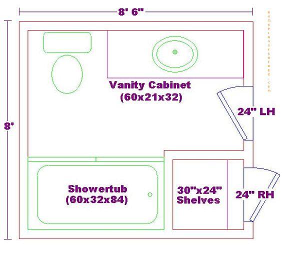 8 X 14 Bathroom Layout Fhc Wang Architecture 10 Bathroom