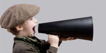 raising your voice