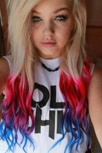 Different Ways To Dye Bleached Hair | My hair, Colorful ...