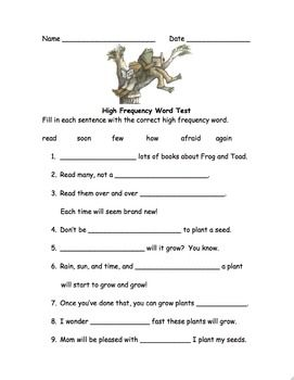 Assessment, Words and Frog and toad on Pinterest