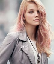 rose gold hair color trend 2017