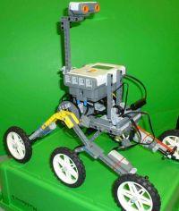 Curiosity Rover Design Challenge | LEGO MINDSTORMS NXT ...