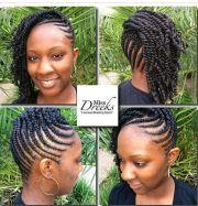 pretty braided style dreeks