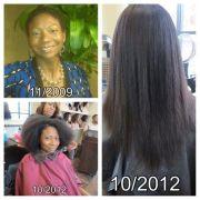 3 years natural hair