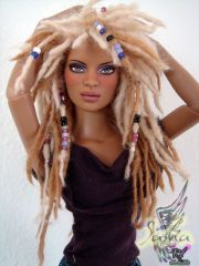 amazing natural hair fashion doll