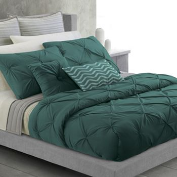 Apt 9 Twist Duvet Cover Set in Emerald Green Okay its