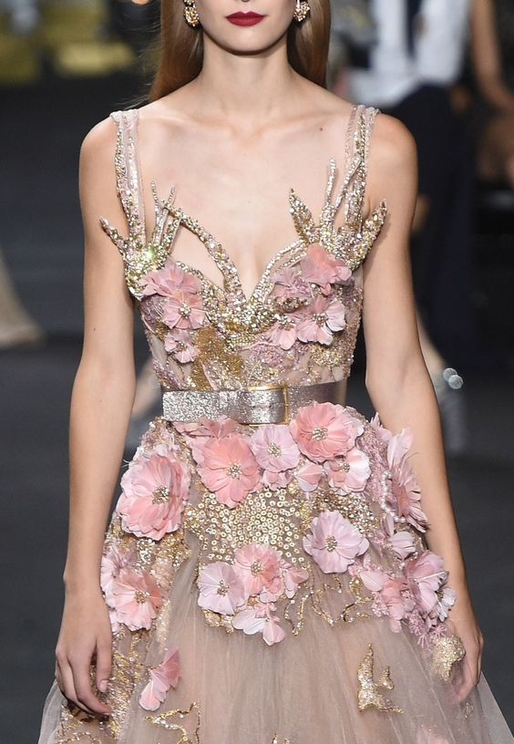 "a-state-of-bliss: "" Detail @ Elie Saab Haute Couture Fall/Wint 2016 "":"