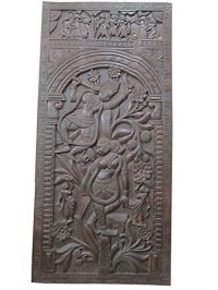 Indian Decorative Panel Radha Krishna Playing Flute on ...