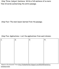 Homiletics Bible Study Worksheet based on one from http ...