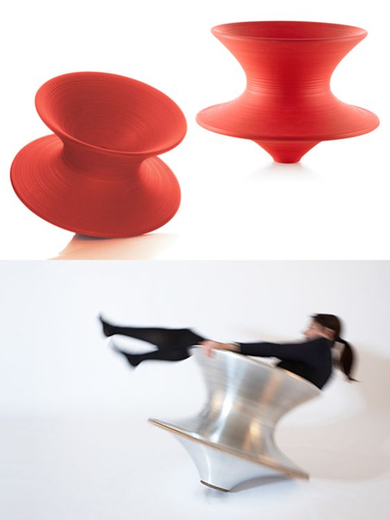 Spun Chair by Thomas Heatherwick for Magis  Home