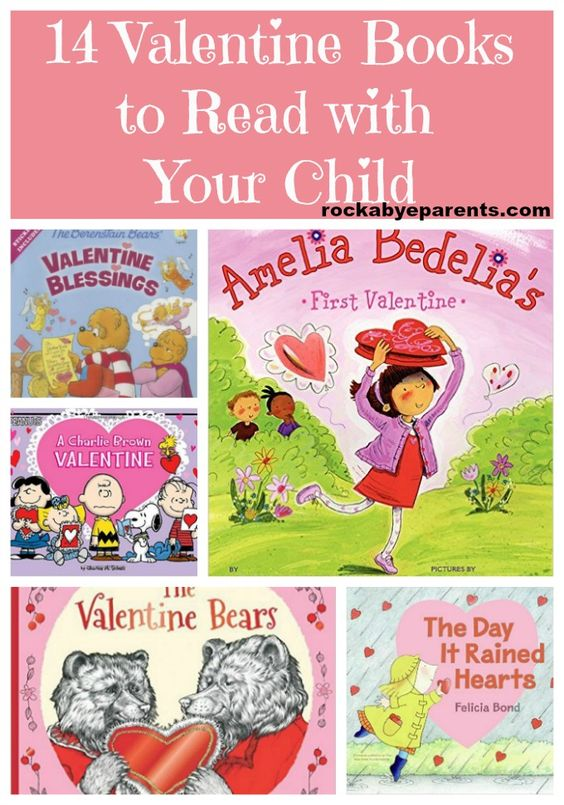 14 fun Valentine books to read with your child to celebrate Valentine's Day! Picture book and leveled reading books included.: