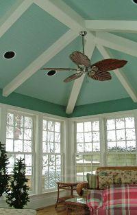 Painted beadboard ceiling   Painted Ceilings   Pinterest ...
