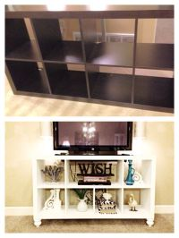 DIY IKEA bookshelf to TV stand! | I'll do it myself ...