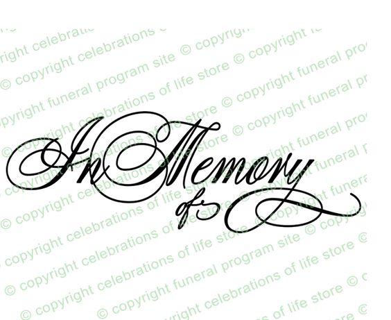 In memory of, Memories and Word art on Pinterest