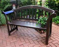 garden bench, brick pavers   Garden Benches   Pinterest ...