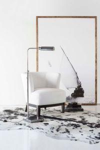 Square based antiqued standing lamp | Living in Monotones ...