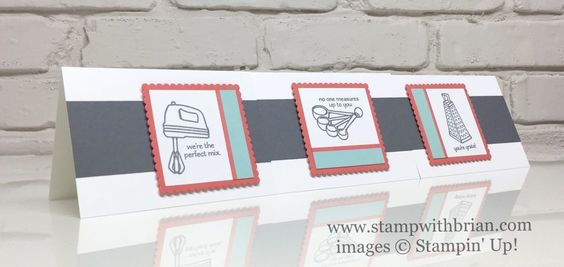 Perfect Mix, Layering Squares Framelits Dies, Stampin' Up!, Brian King, Valentine's Day cards: