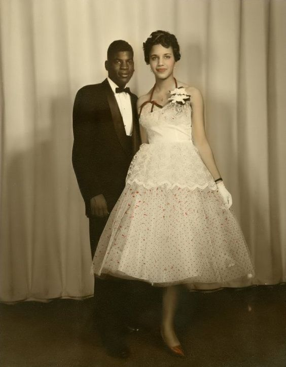 15 Vintage African American Prom Dress Pictures Black