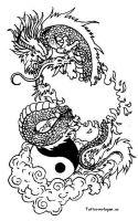 Tattoovorlagen Chinesische Drachen Kostenlos Gratis
