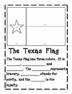 Kindergarten, Texas and Social studies on Pinterest