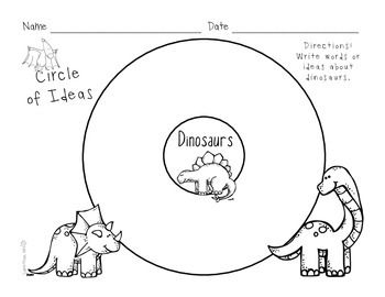 Dinosaur Research Activities and Graphic Organizers