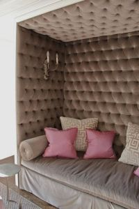 Beautiful Tufted Wall Panels and cushions by ...