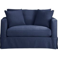 Crate And Barrel Willow Twin Sleeper Sofa Pickup Donation Pinterest • The World's Catalog Of Ideas