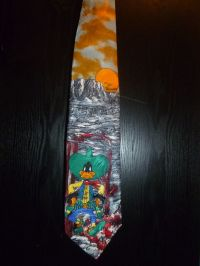Cowboy Daffy Duck Tie
