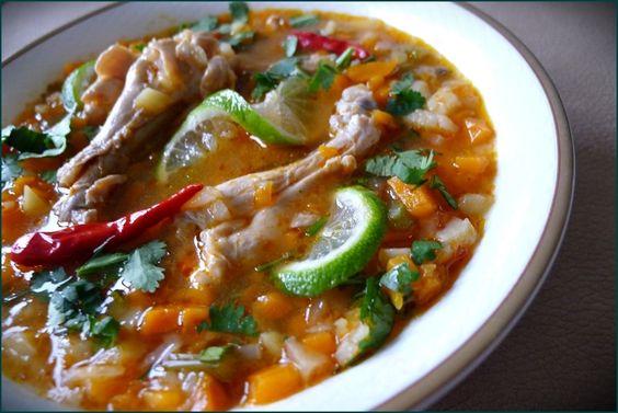 Bahamas Chicken Souse finally found a Carribbean recipe