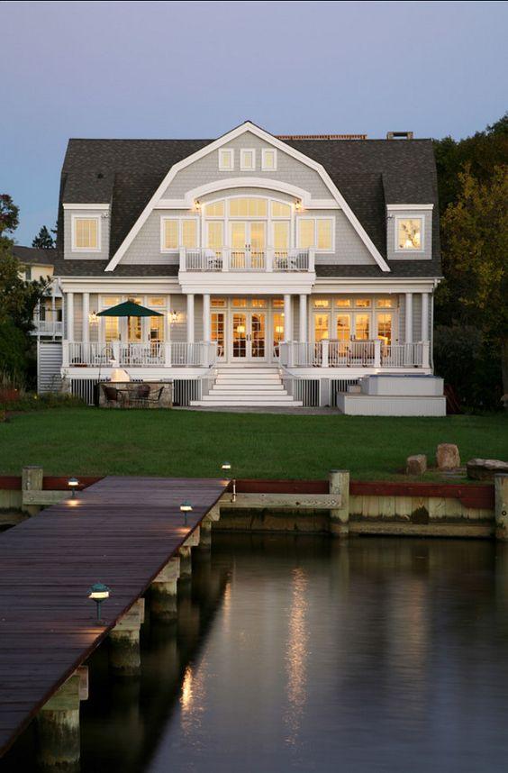 Lake House Charming Lake House Lake House Design