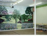 Entertainment area, Garage and Wall murals on Pinterest