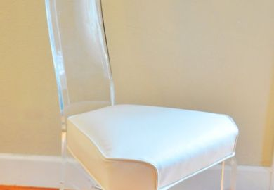 Lucite Chairs Etsy