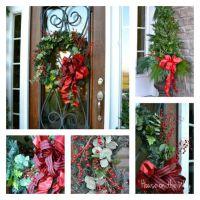 Christmas front doors, Front door decor and Front doors on ...