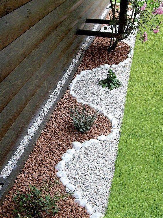 garten stein deko - boisholz, Gartengestaltung