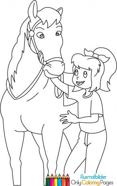Bibi Und Tina Ausmalbilder Pferde Romys Bilder Pinterest