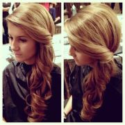 side swept hairstyles prom